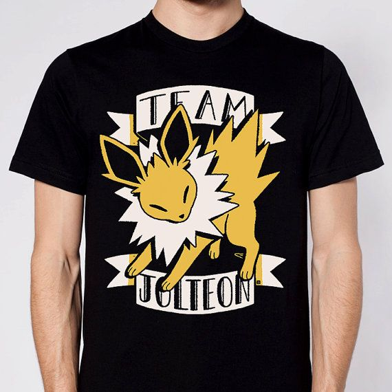 454b9b49 Team Jolteon Pokemon T-Shirt Eeveelutions Jolteon by InksterInc ...