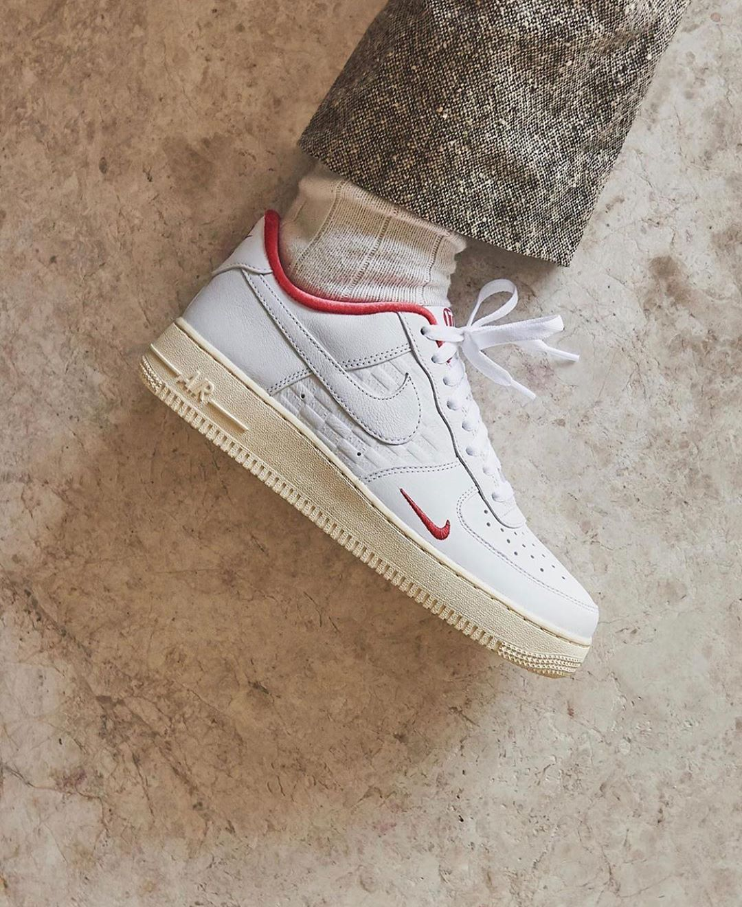 Highsnobiety Sneakers Hskicks On Instagram Take A Closer Look At The Kith X Nike Air Force 1 Co Jp To Commemorate Kith S Sneakers Nike Air Force Nike Air