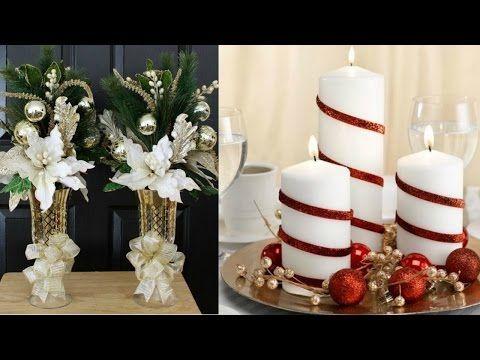3 centros de mesa para navidad y a o nuevo faciles ale - Youtube centros de mesa navidenos ...
