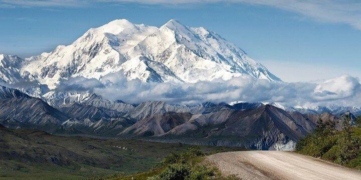 Denali Mountain, Alaska, USA