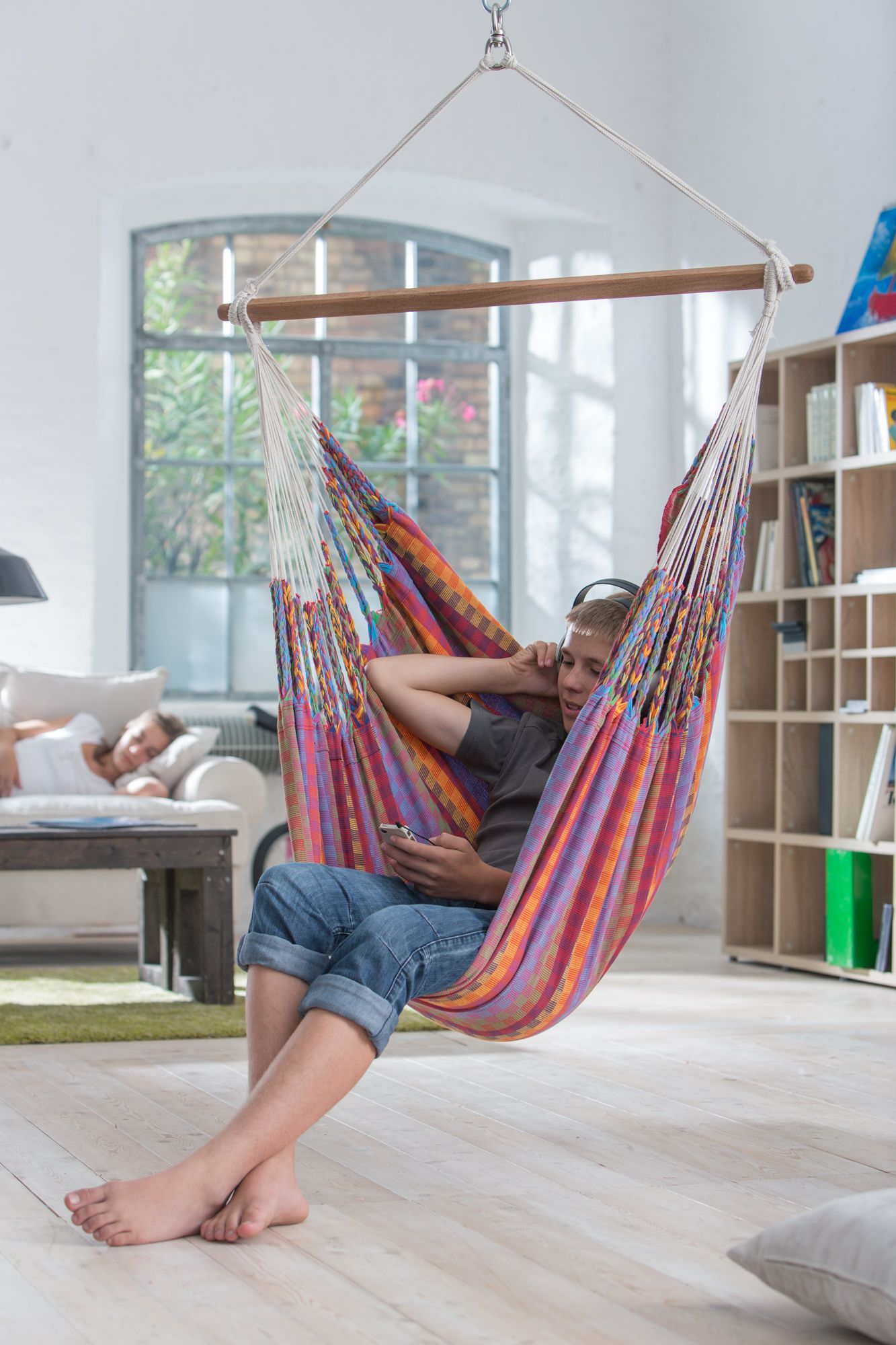 bedroom hammock chair hang out area cool to hang out in my future house 10482
