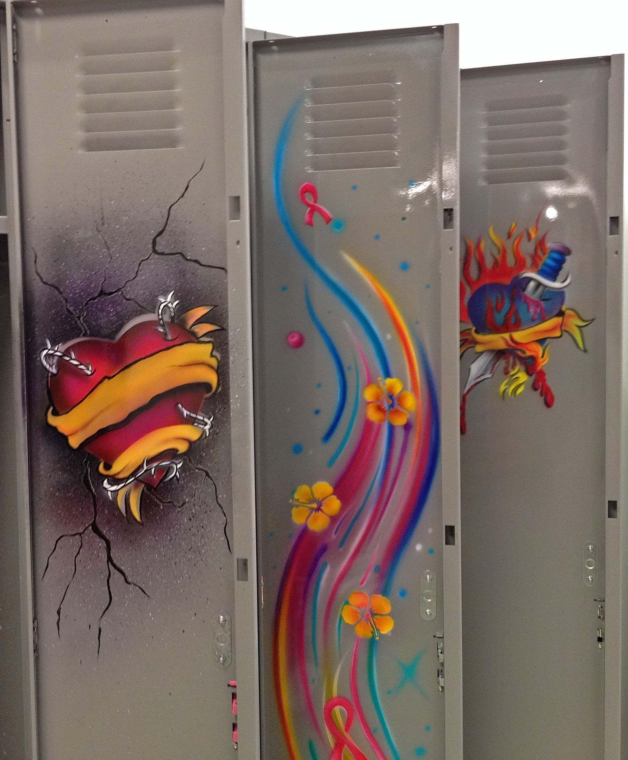 inside door artwork on the triple | Lockers | Pinterest | Inside doors Lockers and Doors & inside door artwork on the triple | Lockers | Pinterest | Inside ... pezcame.com