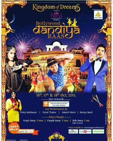 Dandiya Raas, Comedians, Ticket Drawing