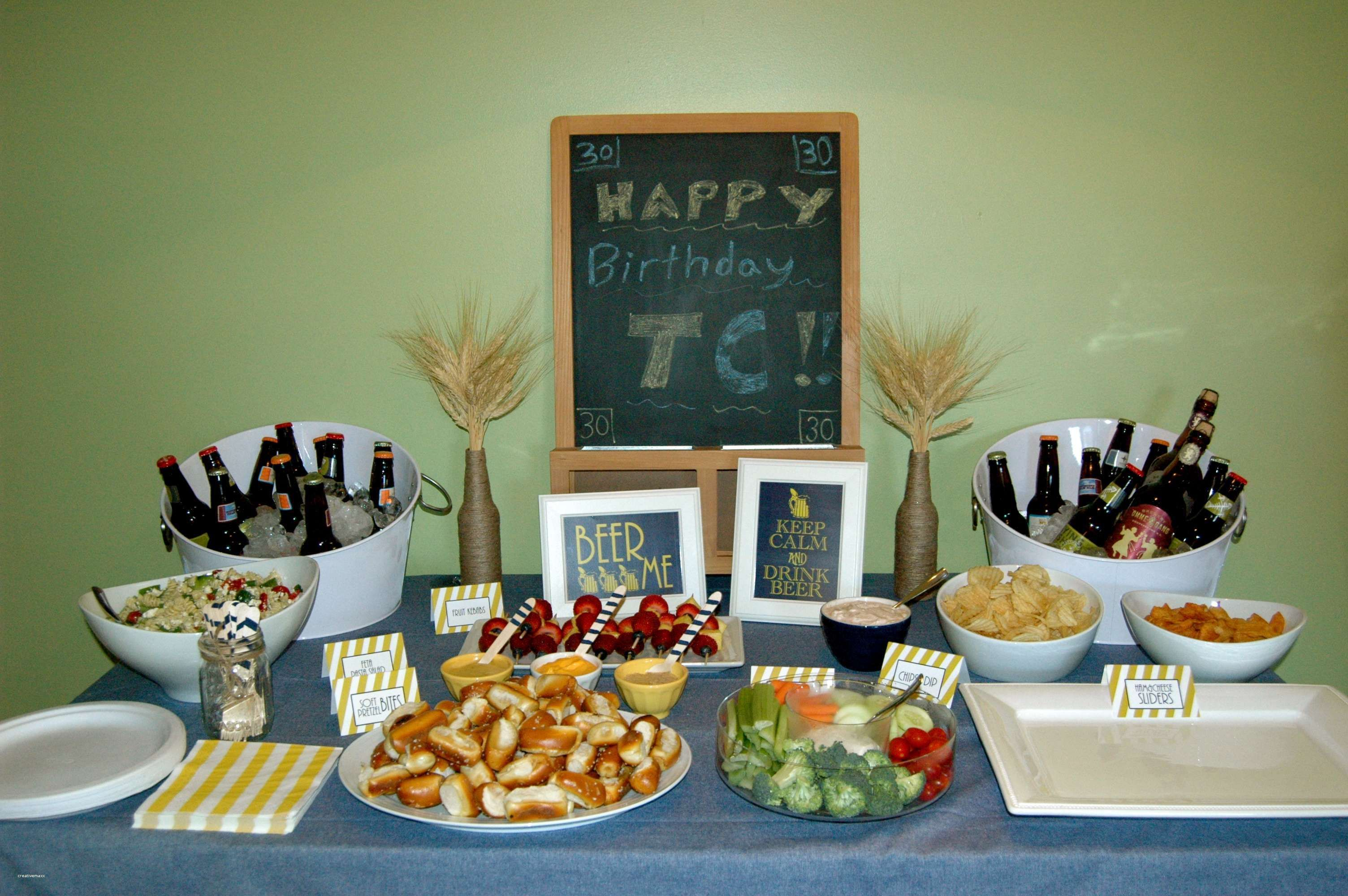 30th Birthday Party Themes Bbq Ideas