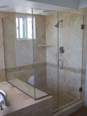 Framed Glass Shower Doors luxury frameless glass shower door | shower doors orange county