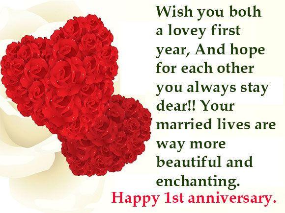 1 St Wedding Anniversary Wishes Wedding Anniversary Messages Wedding Anniversary Wishes 1st Wedding Anniversary Wishes Happy Wedding Anniversary Wishes