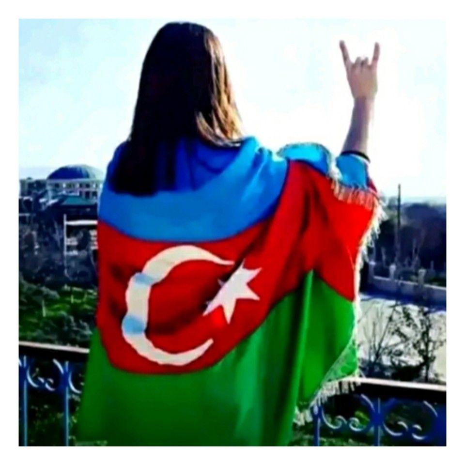 Azerbaijan Flag Azerbaijan Baghdad Iraq
