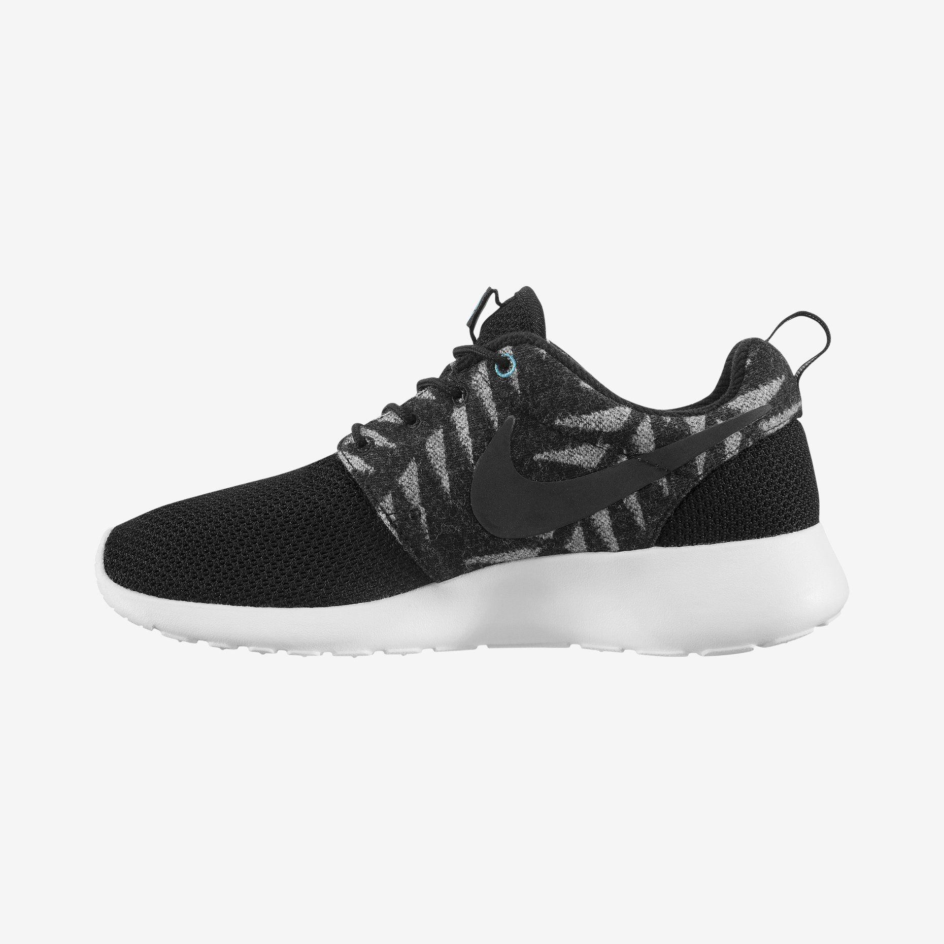 Nike N7 Roshe Run Women's Shoe with Pendleton® wool overlay.