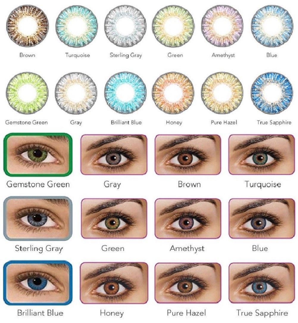 Vibrant Color Contacts Eye Lenses Colorblends Cosmetic Makeup Lens Warda Two Way Cake Luminous Other 172024 Last