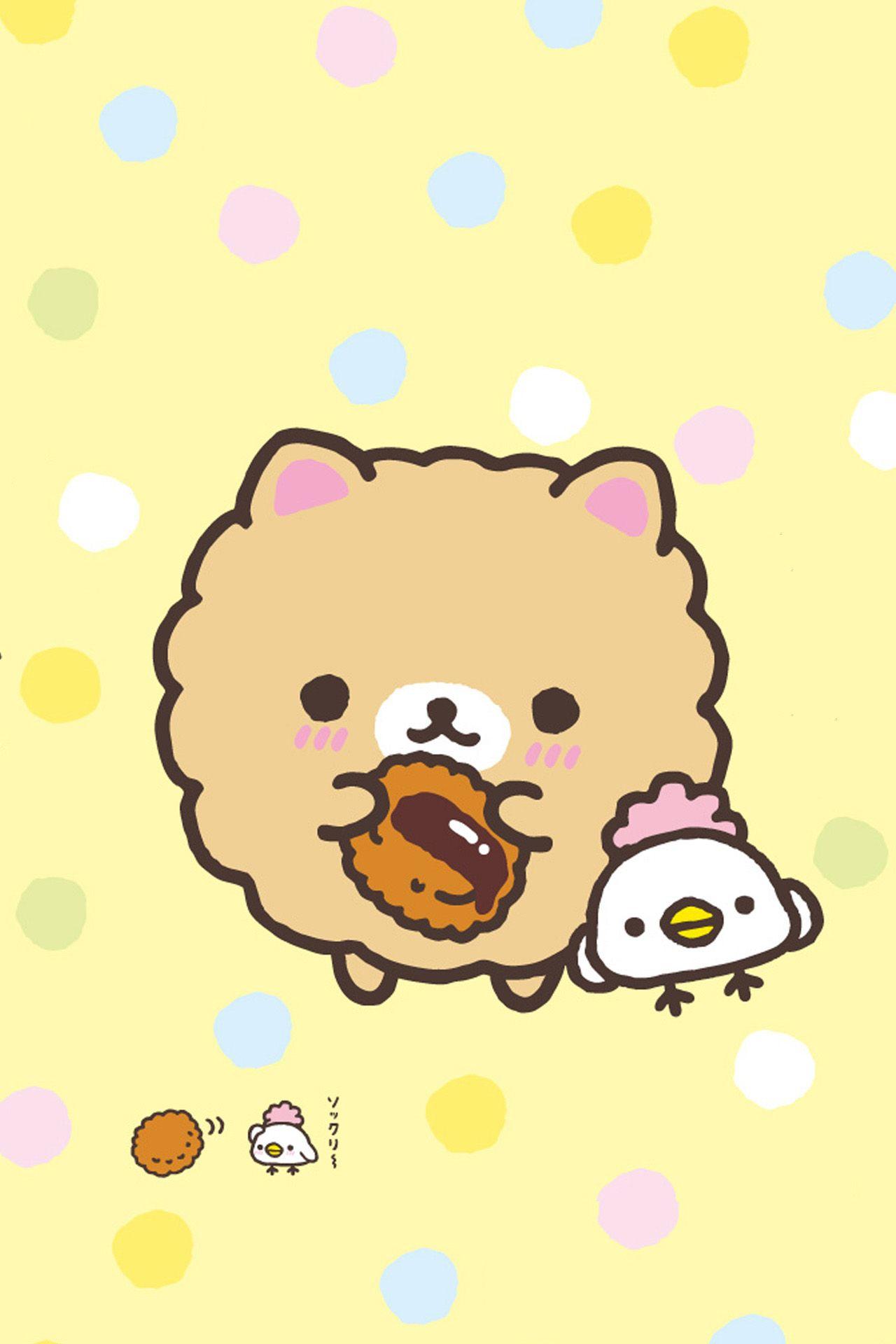 Rilakkuma Soo Kawaii Download More Super Cute IPhone Wallpapers At Prettywallpaper