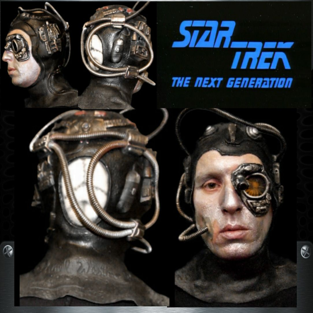 Star Trek Borg Drone Mask | NEW LIFE | Pinterest | Star trek borg ...