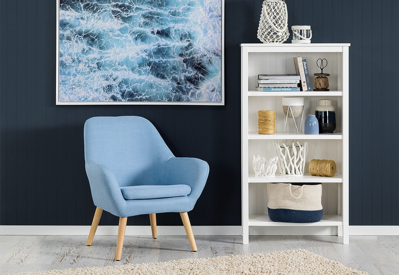 Guyer Fabric Accent Chair Amart Furniture Accent Chairs Chair