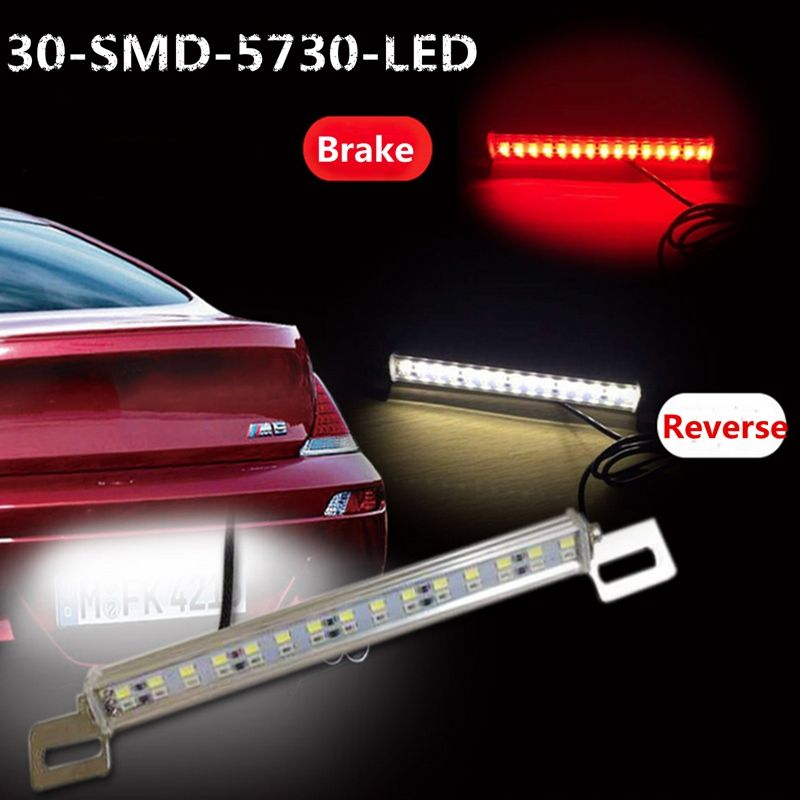 Universal car 12v 30 led stop brake license plate light number plate cheap led light strips for homes buy quality led light box china directly from china lighting led ceiling suppliers universal car 30 led stop brake mozeypictures Choice Image