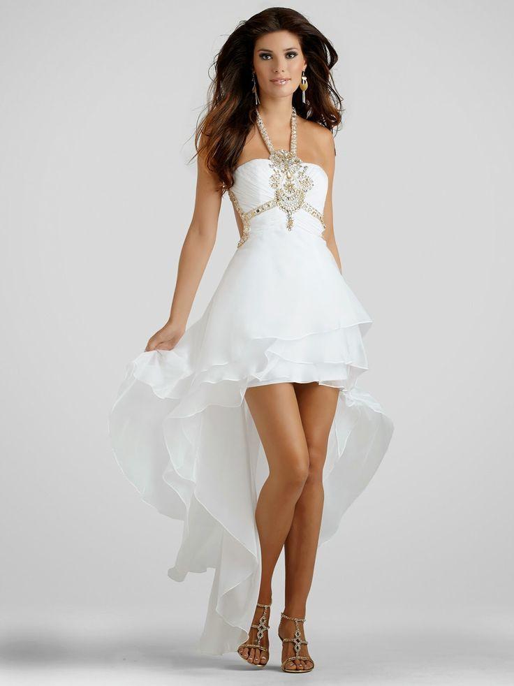 27755c50a Vestido de cola de pato