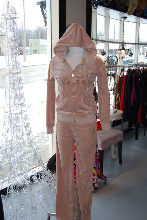 6933048f57621 ON SALE - BCBG 2 piece sweat suit -  59