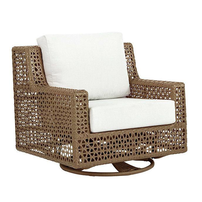 Provincetown Swivel Glider Chair Ballard Designs Cabin Love