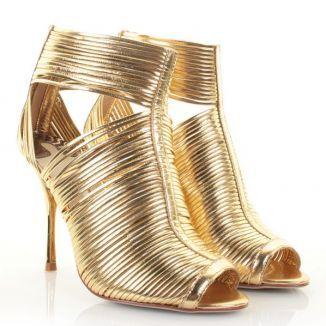 Fancy B32463 Ted Baker Damenschuhe Schuhes Betisa Gold Schuhes Damenschuhe Größe 6     UK 2bc457