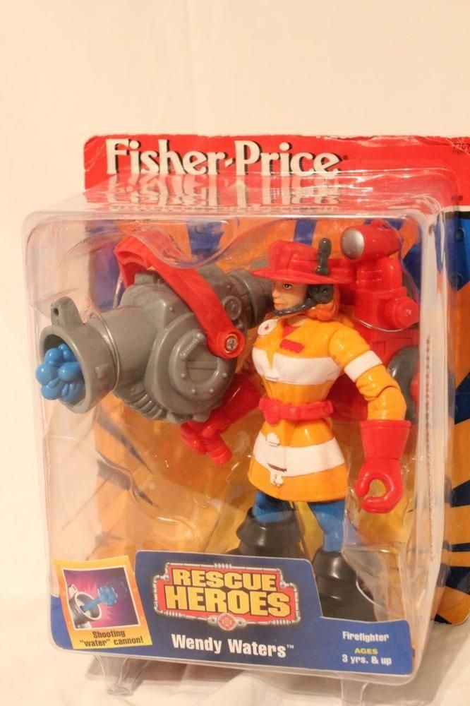 Rescue Heroes Wendy Waters Fisher-Price