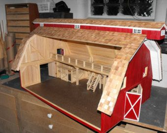 Building A Toy Barn Queen Size Storage Bed Plans Toys Toy Barn