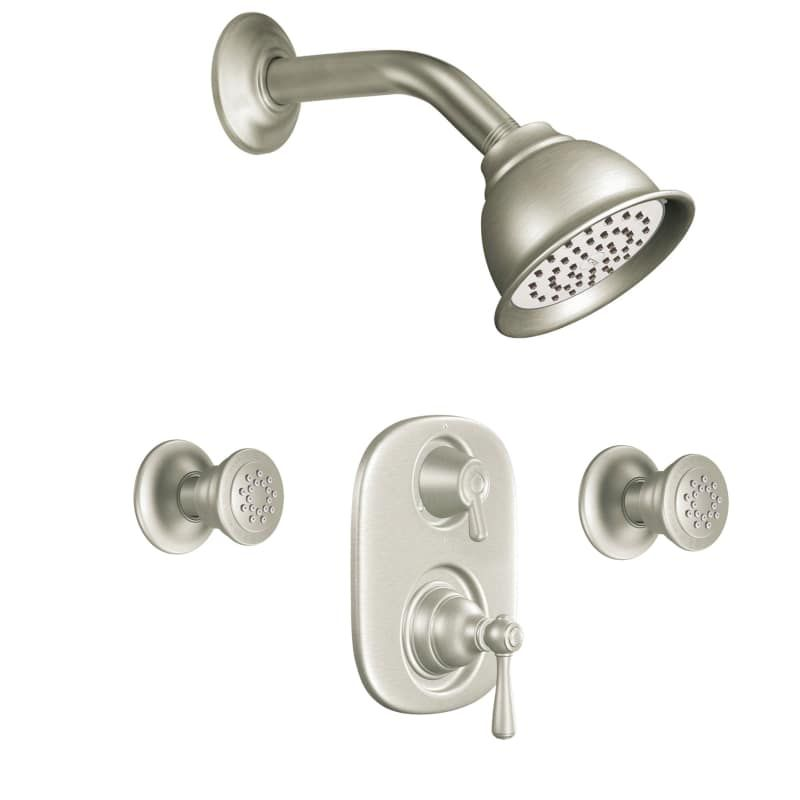 Moen 763 Pressure Balanced Shower System With Shower Head Diverter