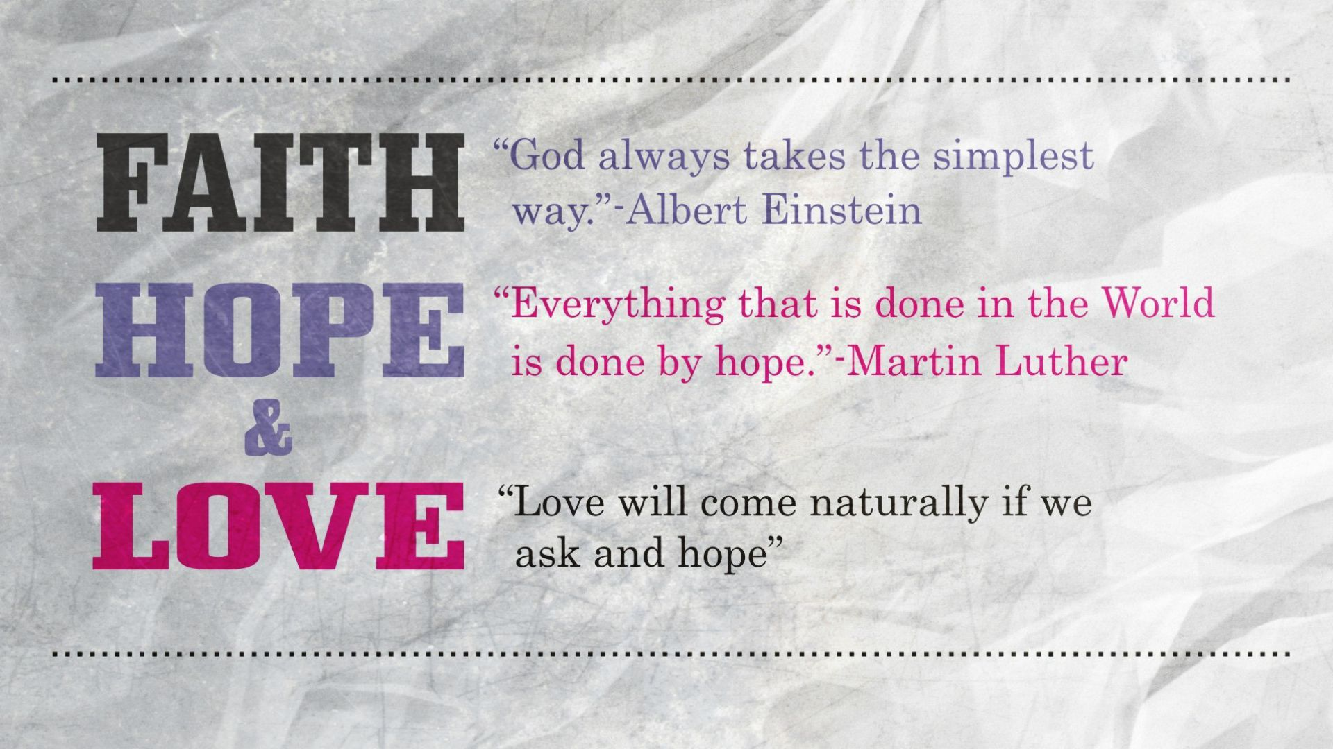 Love And Faith Quotes Faith Hope And Love Quote  Loves Quote  Best Games Wallpapers