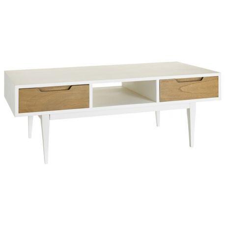 Mesa estilo n rdico modelo martiny mueble auxiliar para televisi n fabricado con madera de - Mesa auxiliar estilo nordico ...