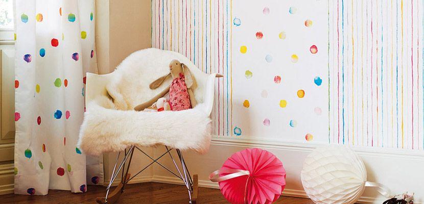 Papeles pintados esprit para el cuarto infantil decoraci n pinterest papel pintado Papel pintado habitacion infantil