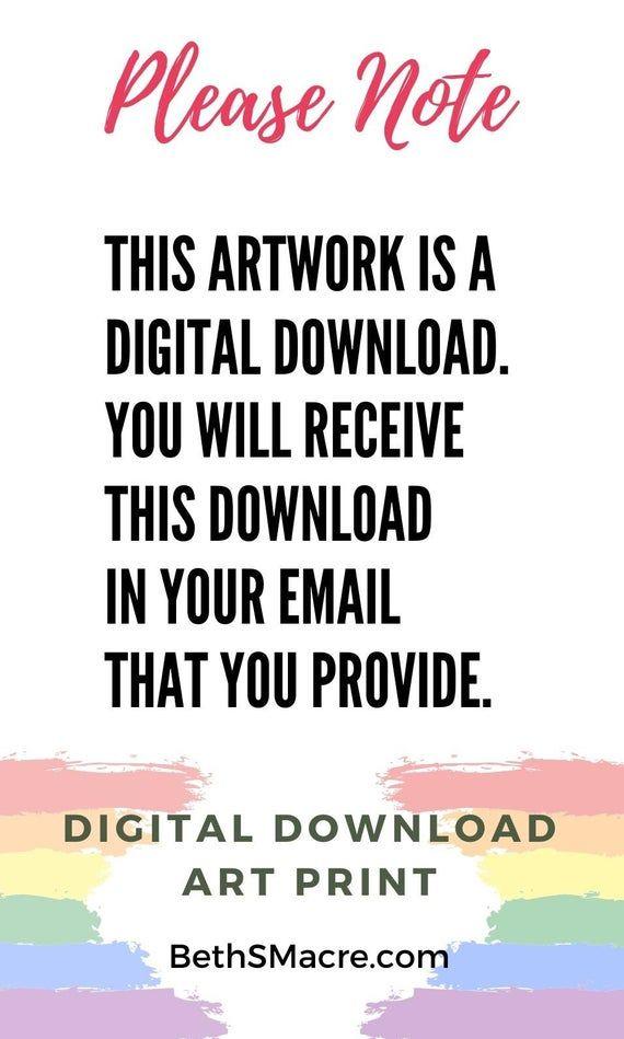 Color Digital Art Print 2.0 Word Art Design 8x10 Digital | Etsy