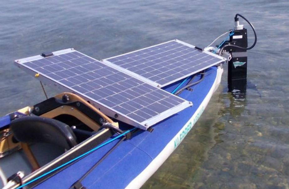 Klepper S Solar Powered E Kayak Solar Kayaking Solar Panels