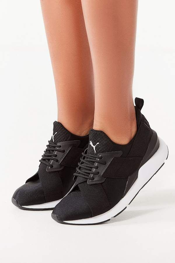 Puma Muse Satin Sneaker | Products | Sneakers, Sneakers nike