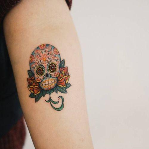 Smalltattoosco Sugar Skull Tattoos Tattoos Skull Tattoo