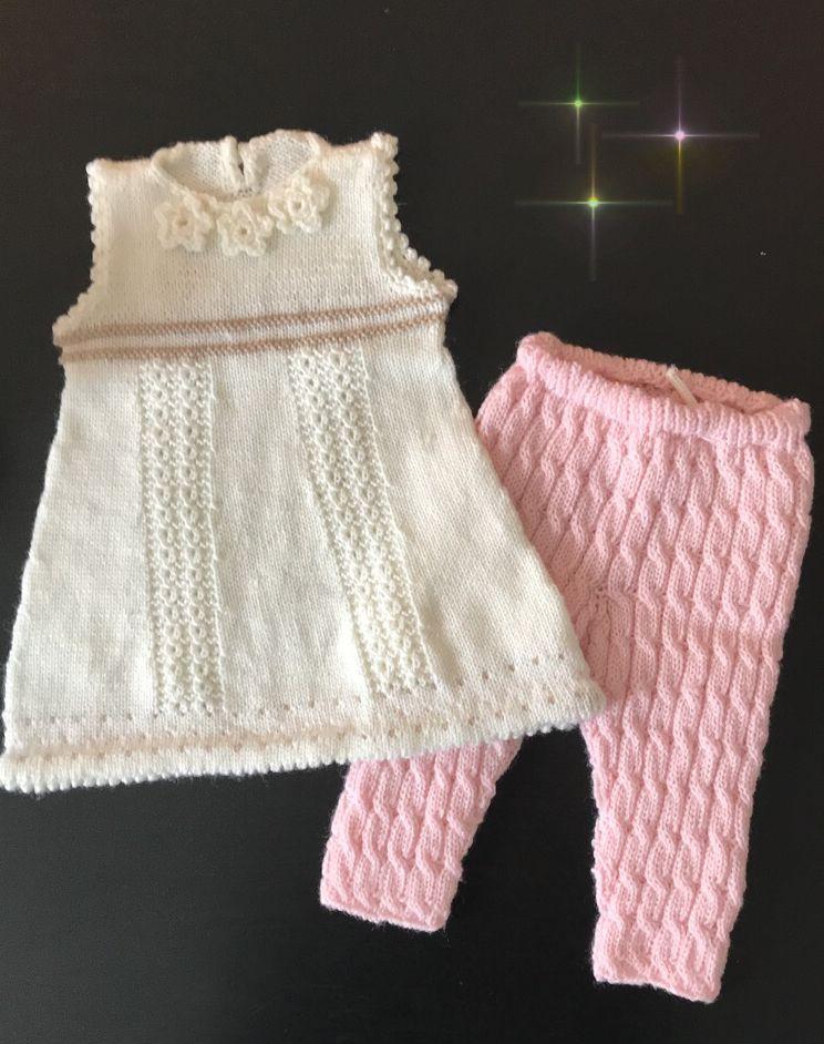 strikke babyklær
