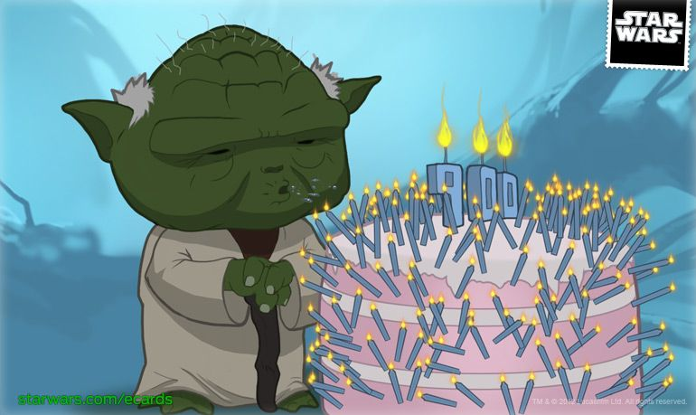 Birthday Card D Nerdom Pinterest Ecards Online Star Wars