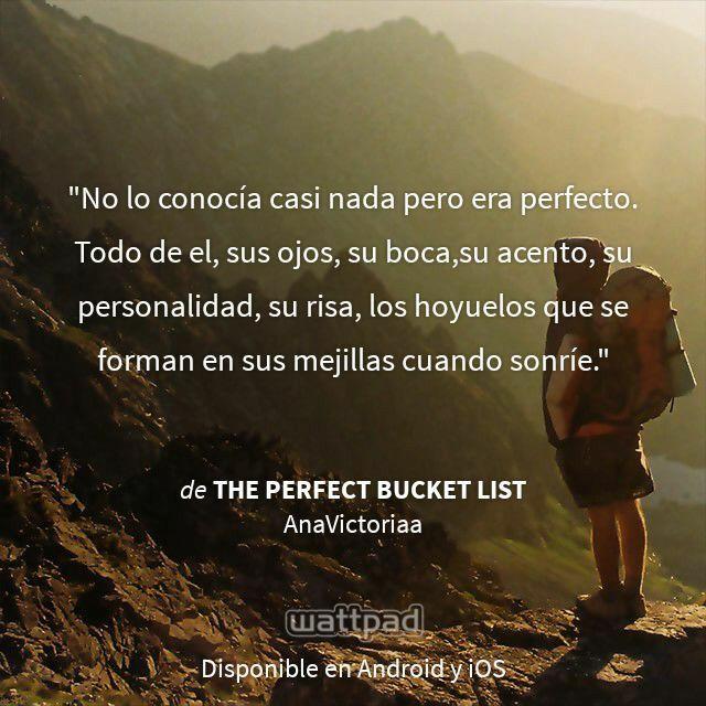 Todo era perfecto