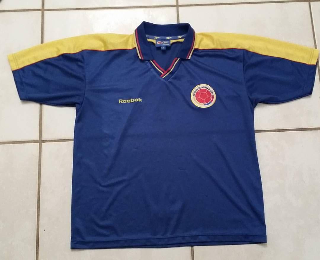 REEBOK Colombia National Team Away Jersey   jerseys colombia colombiana colombian soocer camiseta camisetas futbol gol copa cleats 14a2bae90
