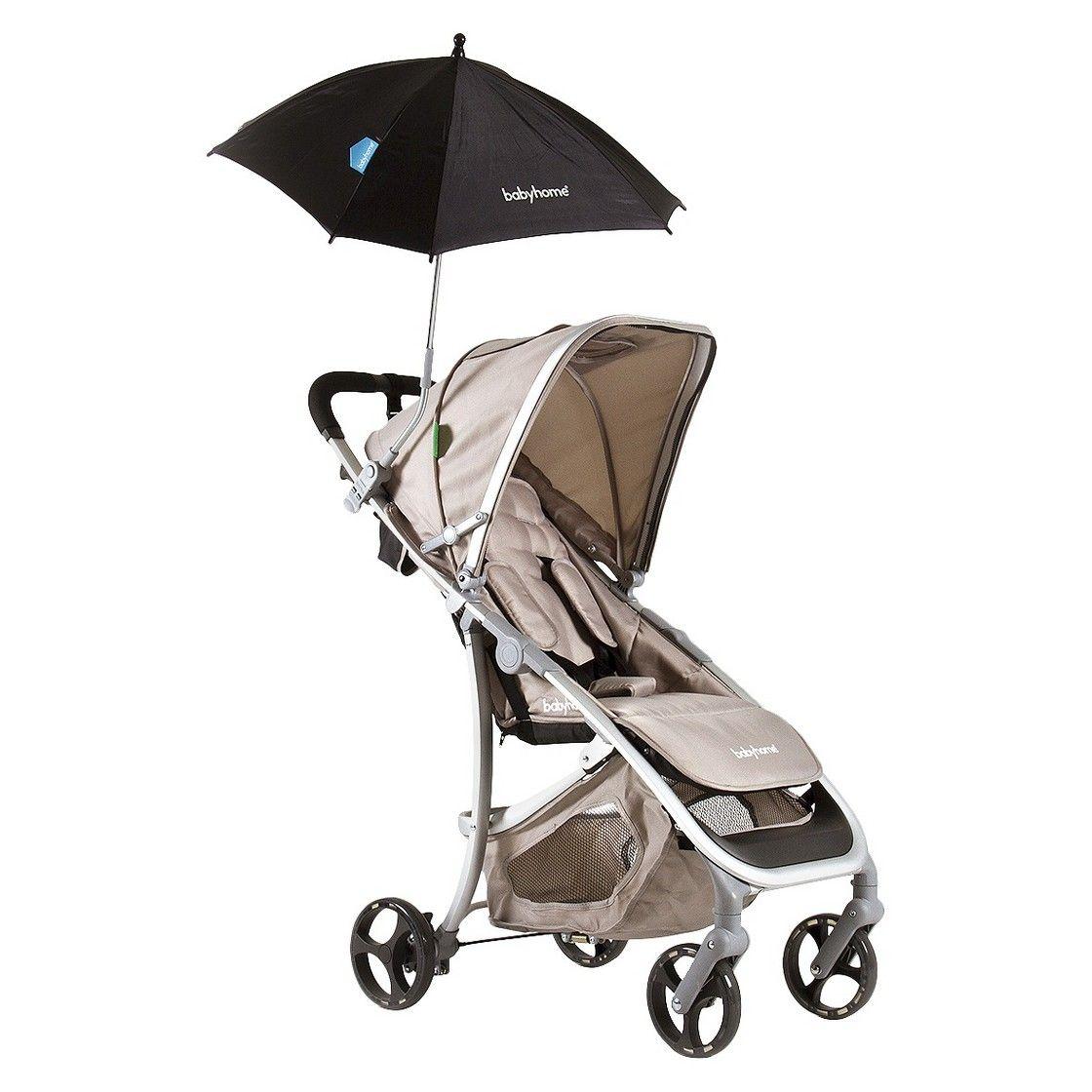 Babyhome Black Sun Umbrella Sun umbrella, Stroller, Baby