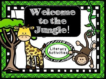 walking through the jungle activity ideas