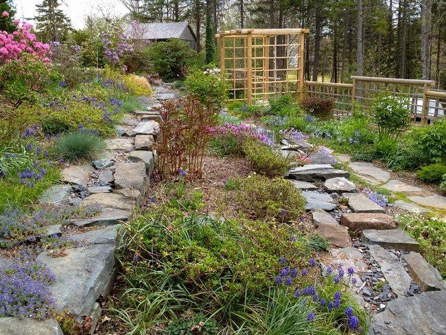 Designing your Terraced Garden - Decor Around The World #terracegardendesign