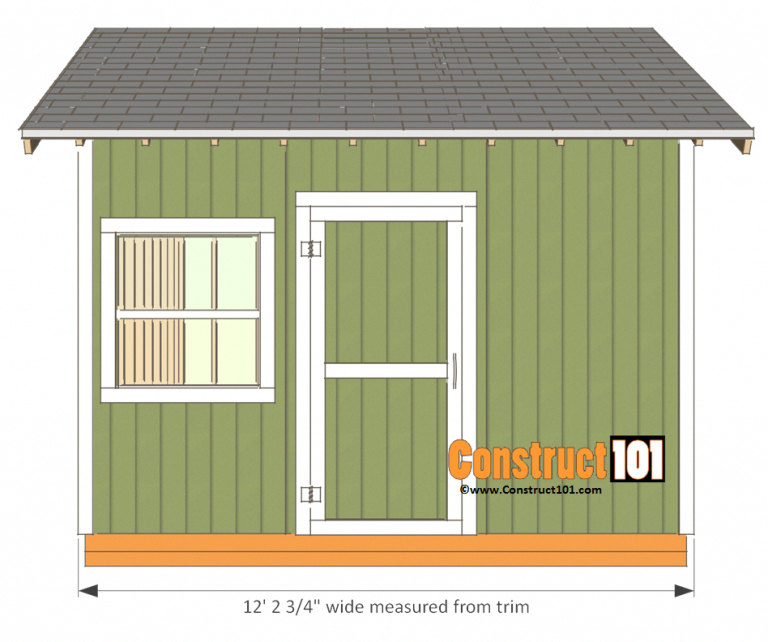 12x12 Shed Plans Gable Shed Building Sheds For Yourself