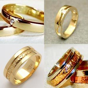 gold rings for men - Gold Wedding Rings For Men