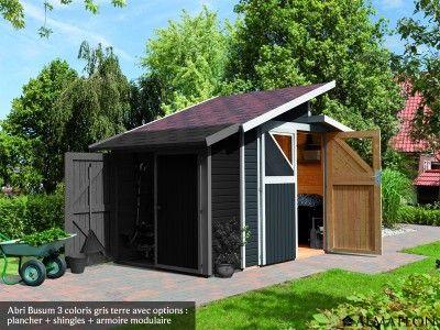Abri b sum toit asym trique chalets et bungalows abri bois abri abri de jardin - Baraque de jardin ...