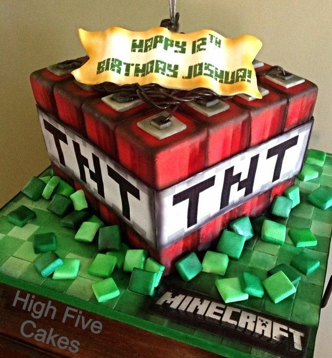 Minecraft Cakes And Bakes Minecraft Cake Cake And Fun Food