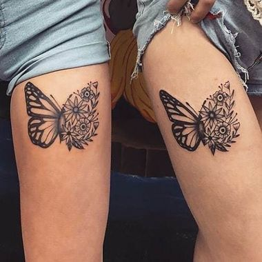 40 Epic Best Friend Tattoos for Women & Their Soul Sisters