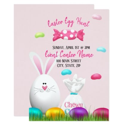 Easter Egg Hunt Event Card