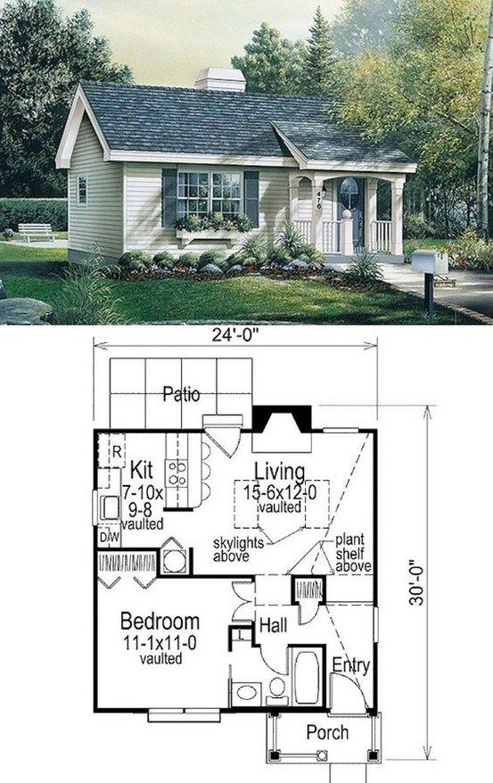 47 Adorable Free Tiny House Floor Plans 40 Cottage House Plans Building Plans House Cottage Plan