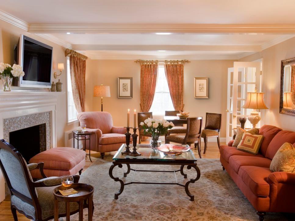 Furniture Arrangement Basics | Coffee Table Ideas | Narrow ...