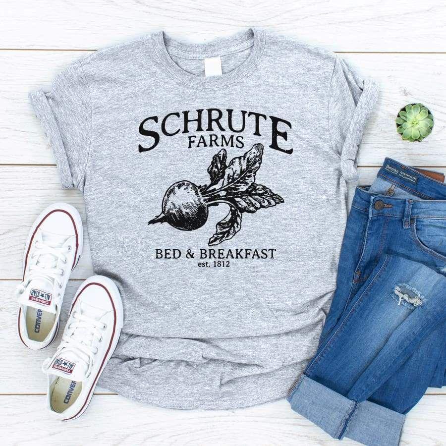 Predownload: Azrea Schrute Farms T Shirt Farm Tshirt Schrute Farms Shirts [ 900 x 900 Pixel ]
