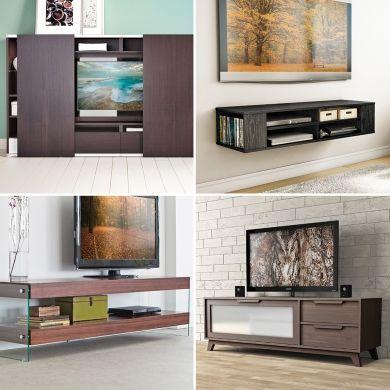 Zoom sur les meubles télé - Salon - Inspirations - Décoration et rénovation - Pratico Pratique