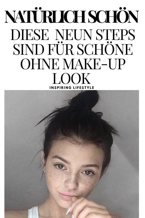 Natürlich Schön: 8 Kleine Dinge, die man tun muss, um ohne Make-up großartig auszusehen #natürlichschön #beauty #ohnemakeup