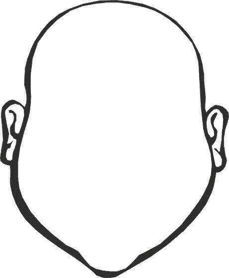face coloring sheet | Things for school | Pinterest | Kids class ...